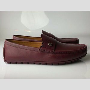 Gucci Miro'Soft Strong Burgundy Loafers G09.5